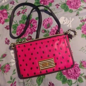 Betsey Johnson Crossbody Purse Wallet